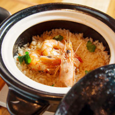 【名物】えび味噌土鍋めし