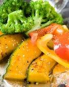 彩り野菜のアンチョビ炒め