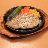 熟成豚ロースステーキ