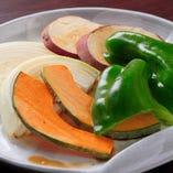 焼野菜の盛り合わせ