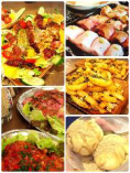 宴会のお料理イメージ