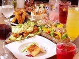 宴会コースのお料理イメージ