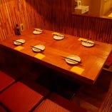 4~6名様小上がりテーブル席
