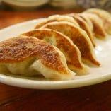 千寿葱の焼き餃子