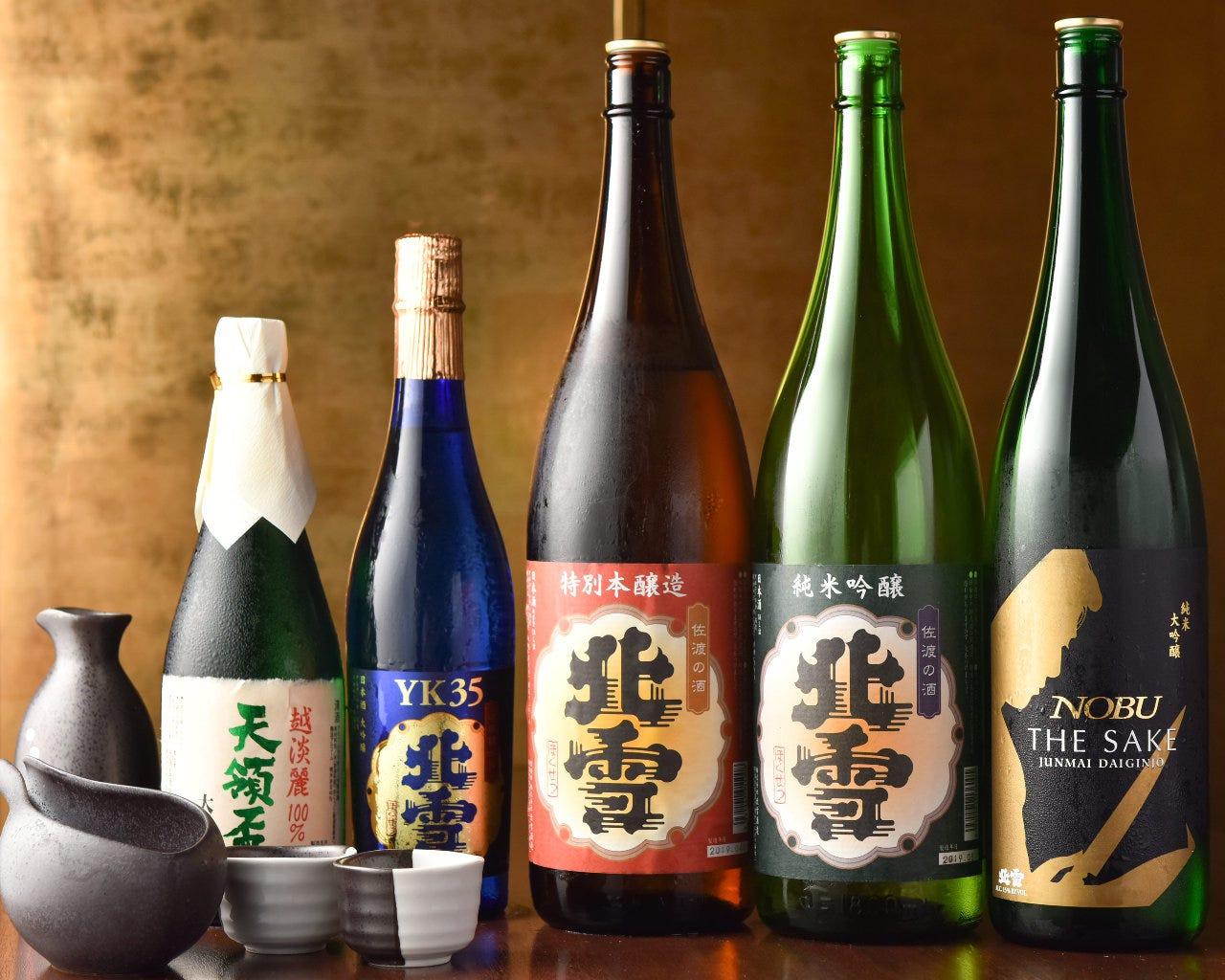 新潟の日本酒をご用意!!