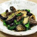 牛肉と茄子のブラックペッパー炒め