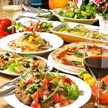 コース料理一例☆ プチ宴会!30名様まで可能な個室有