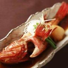 一本鮮魚~旬魚などの煮付け