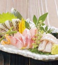 料理長のおすすめ! 産直鮮魚4点盛り合せ
