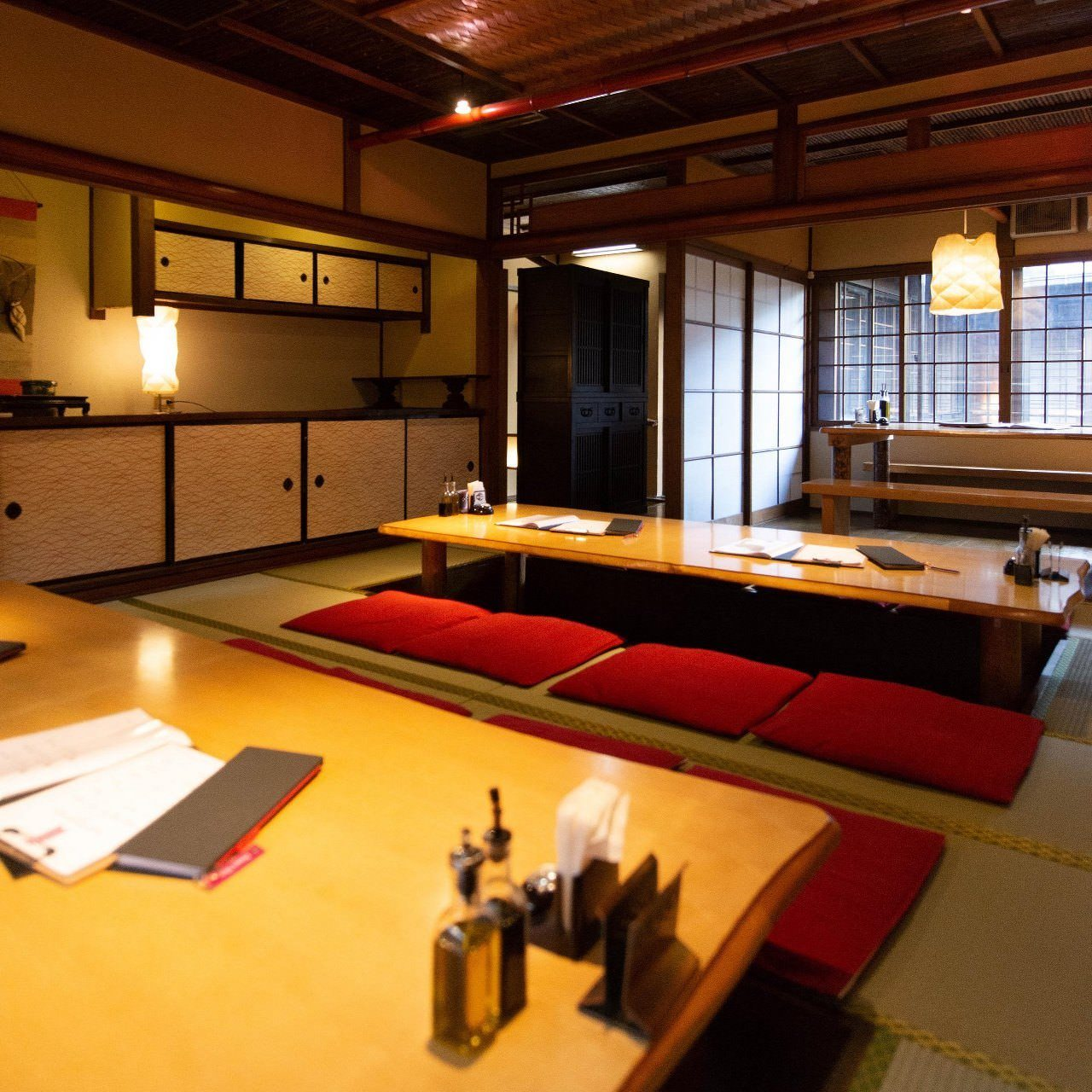 京都の雰囲気を楽しめる町屋風空間