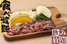 平日ランチ(月~金)限定!【特製味付けラムのジンギスカン】90分食べ放題+飲み放題!