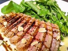 燻製合鴨のローストバルサミコソース
