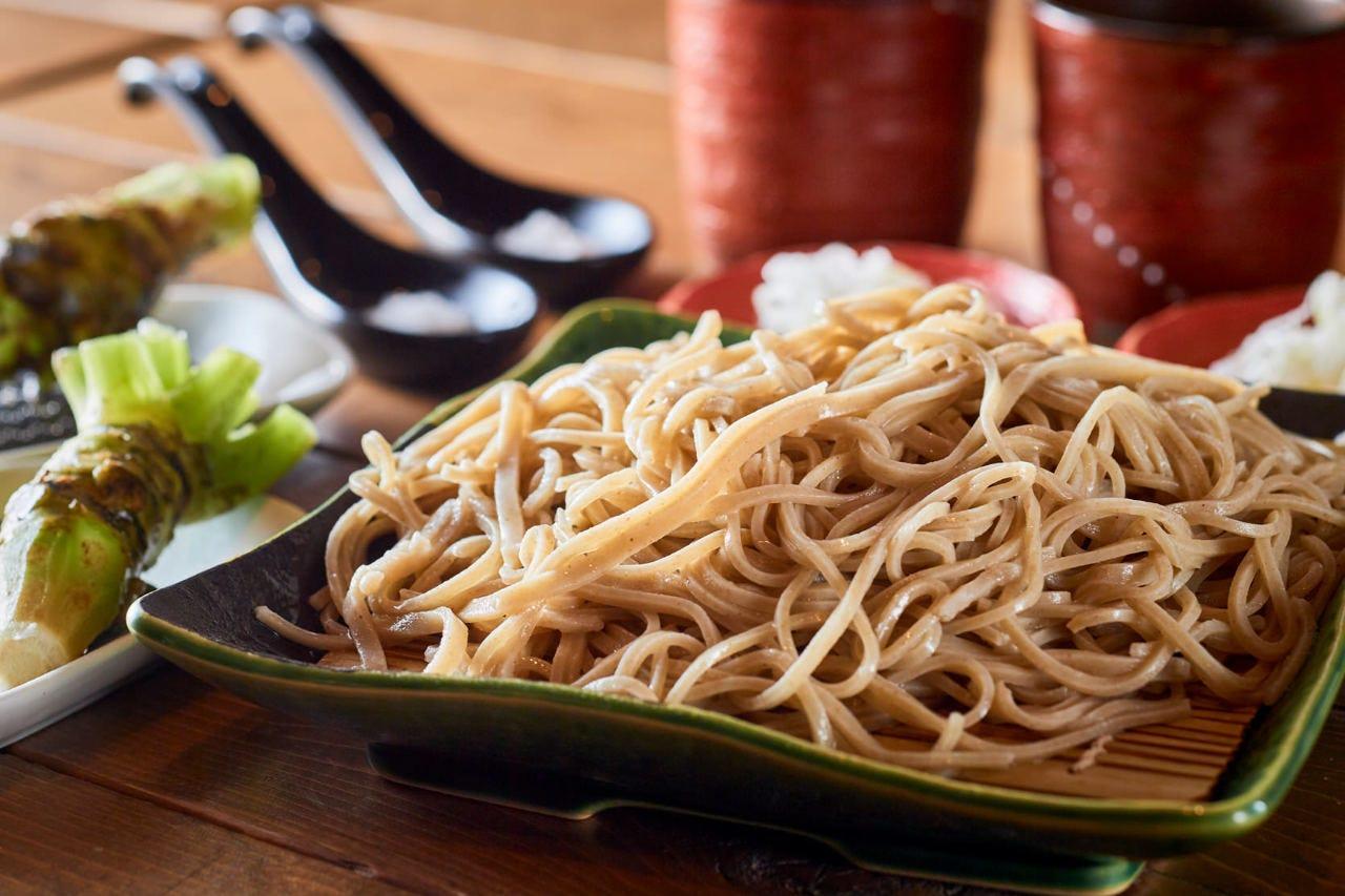 茨城県のブランド蕎麦粉『常陸秋蕎麦』を贅沢に十割使った蕎麦