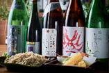 こだわりの十割蕎麦と日本各地の日本酒!