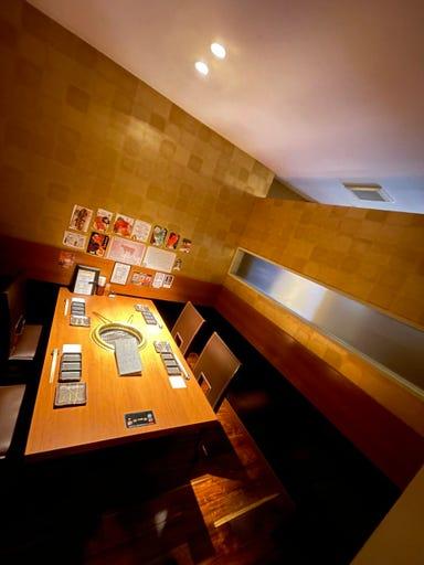 個室型焼肉 鞍牟  店内の画像