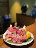 ここでしか味わえない上質なお肉を非日常空間でご堪能ください。