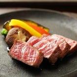佐賀ブランド牛のサーロインステーキ