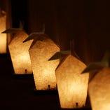 廊下の灯篭