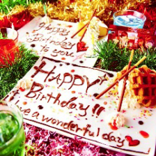 誕生日・記念日におすすめ♪