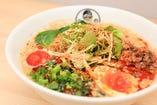 [ある時限定メニュー]豆乳坦々麺