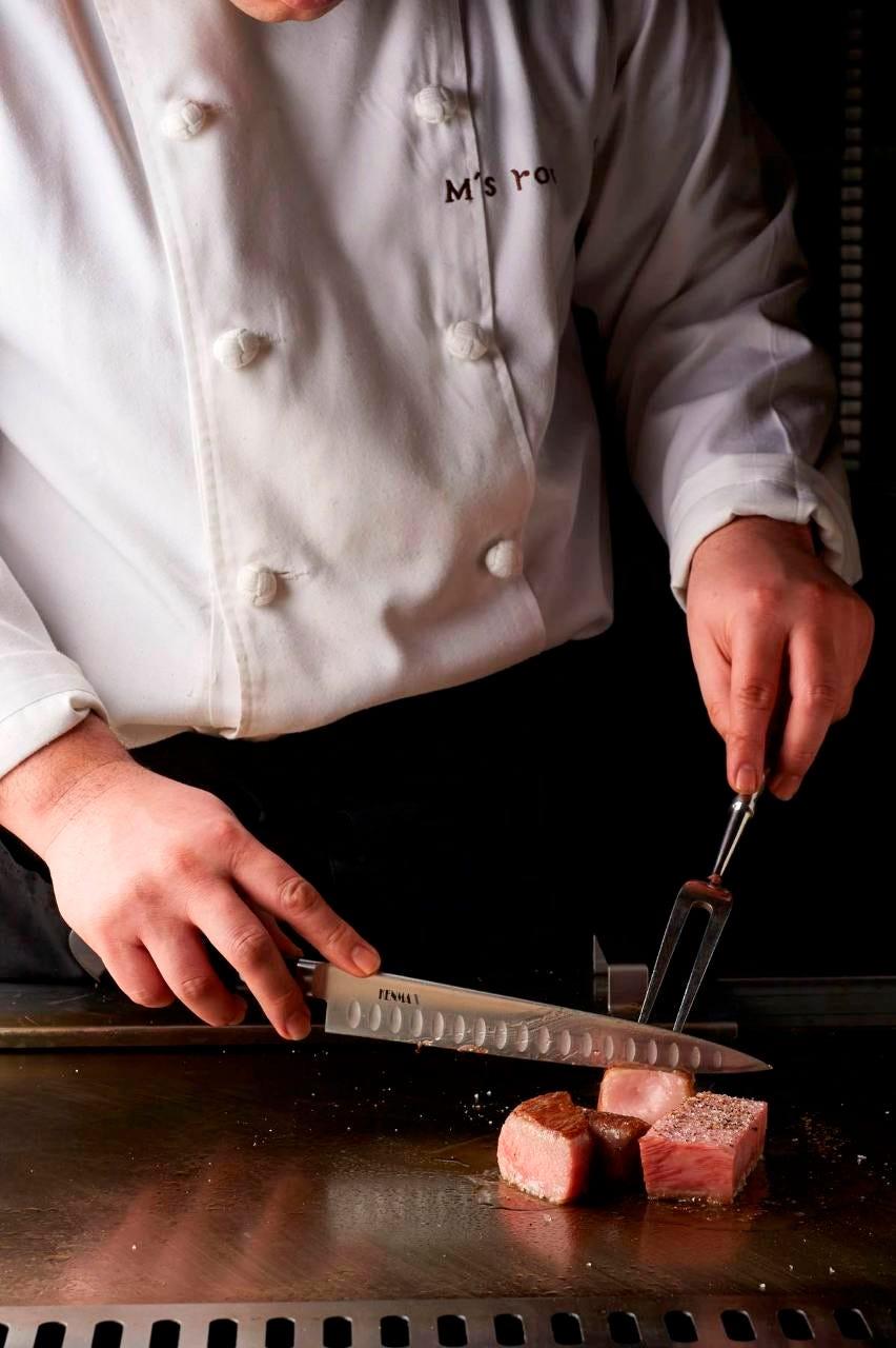 【特選黒毛和牛コース】 お料理の内容随時変更致します。