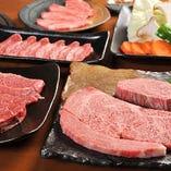 近江牛の焼肉をご堪能いただけるコースは5,000円(税抜)~。