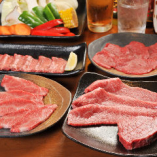 ぐるなび限定!飲み放題付の「焼肉宴会プラン」(日~木曜日・祝日は6名様以上、金・土曜日・祝前日は8名様以上で承ります。)