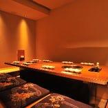 接待やお顔合わせなど、特別な日も。華を添える上品な個室をご用意しております。