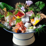 特選鮮魚八種盛り【番屋名物 鮮魚鬼盛り】【国産】