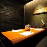 総席数166席の新宿南口店は全席完全個室にてご案内しております