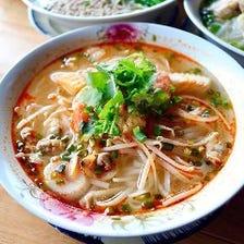 ベトナム名物の米粉麺フォー