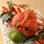 新鮮な蟹まで堪能できてしまいます!蟹いりコースもあります◎