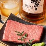 日常では召し上がれない上質な肉料理に舌鼓。
