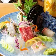 【プレミアム】誕生日・デートに。特製デザートプレートにスパークリング日本酒ボトル付 お食事10品