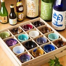 九州を中心とした地酒と自慢の陶器