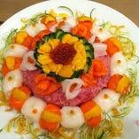 ■寿司ケーキ