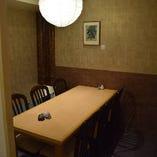 テーブル個室最大7名様までご利用可
