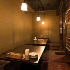 宴会&カップル♪小上り堀ごたつ個室