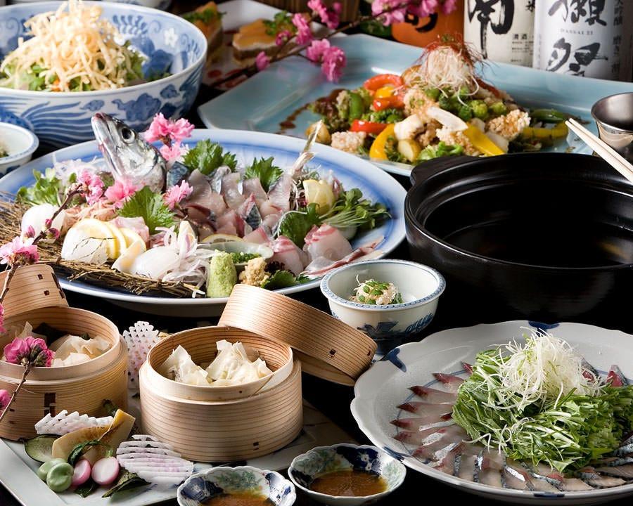 大満足のコース料理を是非おめしあがりください。