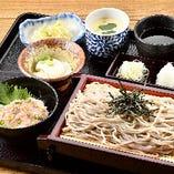 石臼挽きざる蕎麦と選べるミニ丼御膳