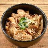 ミニ牛カルビ丼