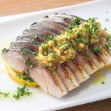 金華〆鯖炙り