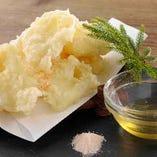 モッツアレラチーズの天ぷら