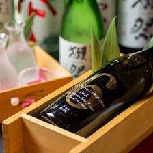 ◆心が躍る豊富な日本酒とワイン◆