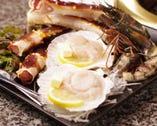海鮮も豊富に! 新鮮素材の美味しさを堪能下さい。
