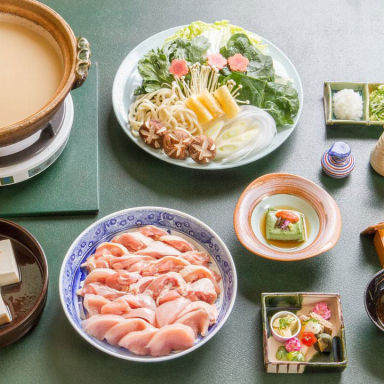 京料理 とりよね  こだわりの画像