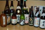 焼酎、日本酒、ウィスキー