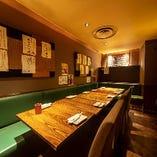 半個室【8名様~13名様まで】宴会や歓送迎会にぴったりの空間