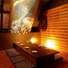 店内:◇選べる ・ 6つのエリア 夜景・離れ・完全個室◇