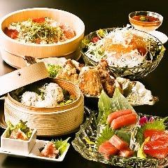黒毛和牛×活鮮魚 マグロ婆娑羅 上野店